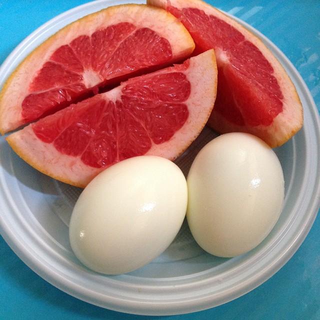 Диета только грейпфрут и яйцо
