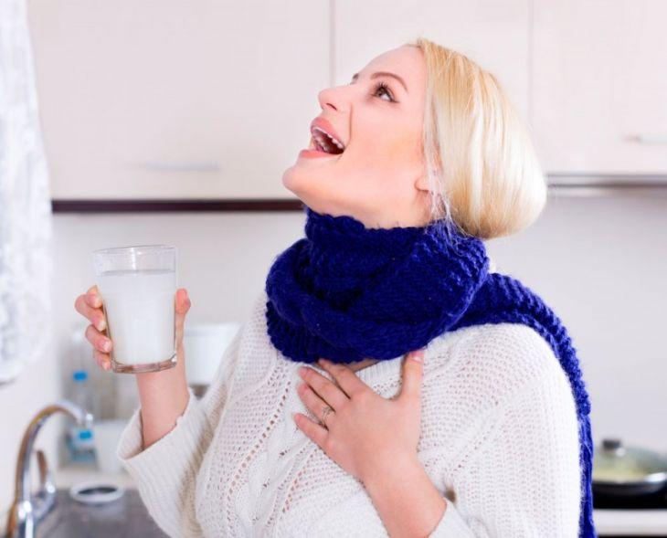 Народные средства для лечения горла у взрослых